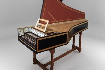 Modartt releases Hans Ruckers II harpsichord for Pianoteq