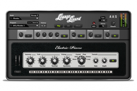 Applied Acoustics Systems releases an NKS-ready version of the Lounge Lizard EP-4 electric piano plug-in