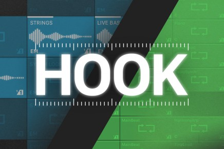 Retronyms introduce their new tablet remix tool 'Hook'