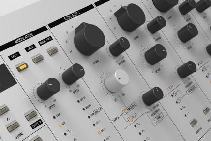Axel Hartmann announces the 20 Synthesizer