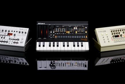 Roland announces TR-09 Rhythm Composer, TB-03 Bass Line and VP-03 Vocoder