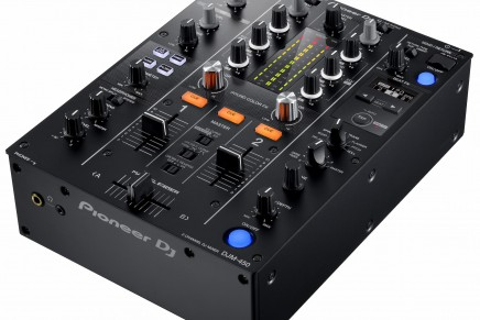 Pioneer announces DJM-450 two-channel mixer