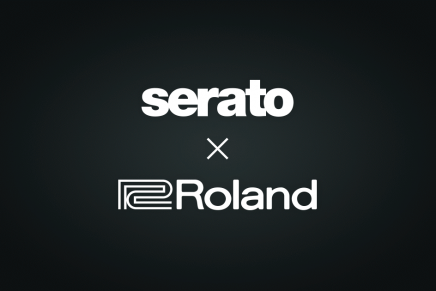 Serato announces a new partnership with Roland