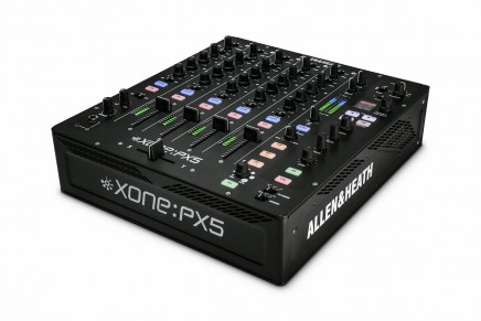 Allen & Heath announces Xone:PX5 4 channel DJ mixer