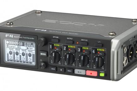 Zoom announces F4 MultiTrack Field Recorder