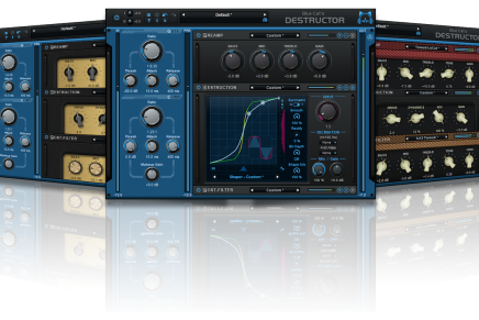 Blue Cat Audio announces Destructor distortion and amp modeling software plug-In
