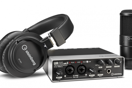 New Steinberg UR22mkII audio interface bundle offers complete recording solution