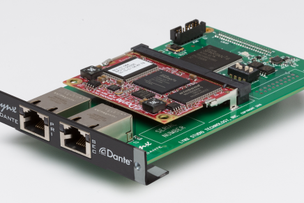 Lynx introduces Dante LSlot interface for Lynx Hilo and Aurora