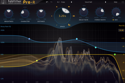 FabFilter releases the Pro-R reverb plug-in