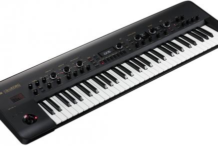 Korg announces KingKORG Black modeling synthesizer
