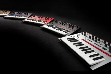 Korg announces next-generation monologue monophonic analog synthesizer