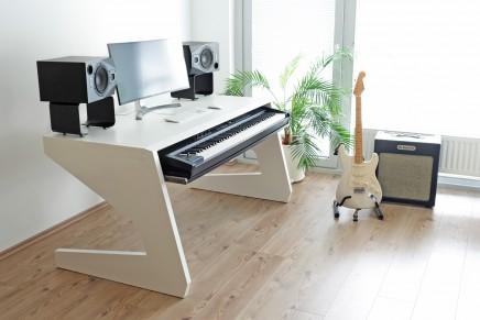 Unterlass Studio Furniture facilitates composing comfort with KEY 88