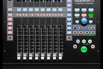 PreSonus announces FaderPort 8 MIDI DAW controller
