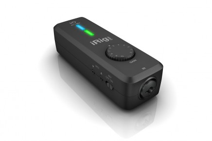 IK Multimedia announces iRig Pro I/O audio and MIDI interface for iPhone, iPad, Mac and PC