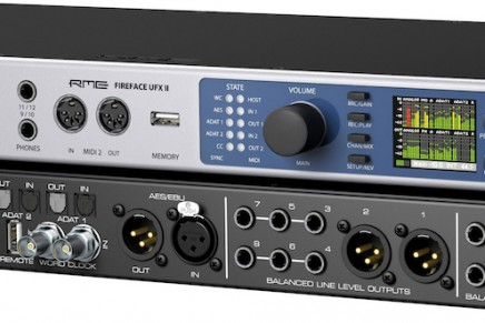 RME announces Fireface UFX II audio interface