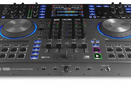 Gemini announces SDJ-4000 Professional Dual Deck USB Media Player