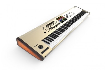 Korg announces the KRONOS 88 GOLD limited edition workstation synthesizer