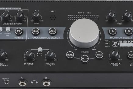 Mackie announces three new monitor controllers – Big Knob Passive, Big Knob Studio and Big Knob Studio+