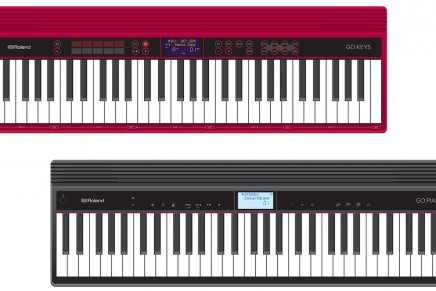 Roland announces GO-61 keyboard and piano series