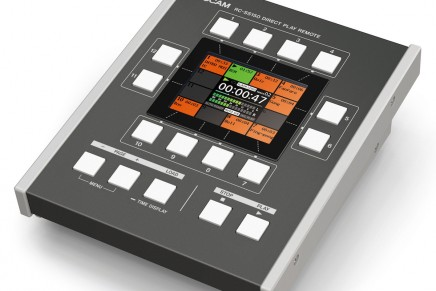 TASCAM announces SS-R250N and SS-CDR250N solid-state/CD recorder, and RC-SS150 controller