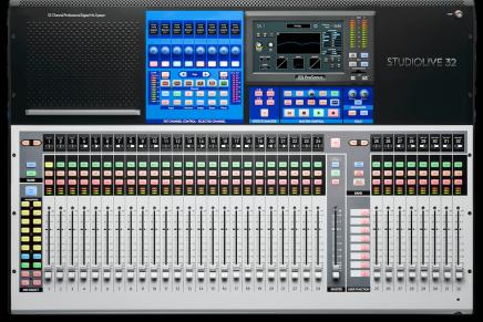 PreSonus unveils third generation StudioLive Series III consoles