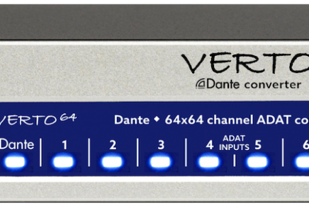 New Ferrofish products at the MusikMesse 2017 – VERTO, Pulse16 and A32 DANTE