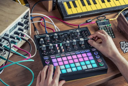 Novationannounces Circuit Mono Station paraphonic analogue synthesizer at Superbooth 2017