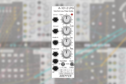 Softube launches Doepfer A-101-2 Vactrol LPG low pass gate module for Modular