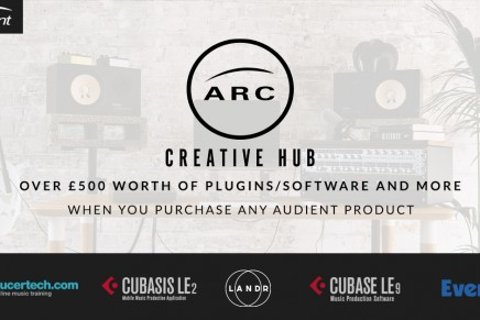 Audient Unveils ARC – The Creative Hub