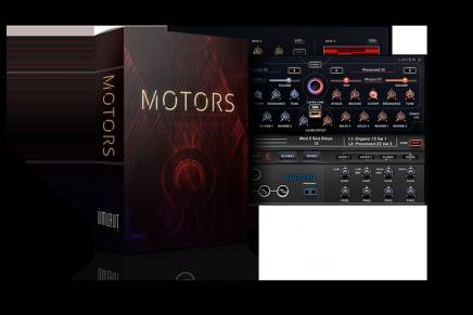Umlaut Audio announces the release of MOTORS Loop Based Rhythmic Instrument for KONTAKT