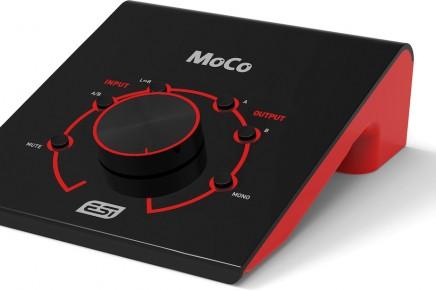 ESI announces MoCo studio monitor controller