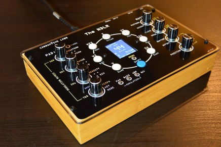 Conductive Labs shows the NDLR – A multi-part polyphonic arpeggiator on Kickstarter