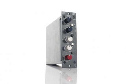 Rupert Neve Designs announces the 535 500-Series diode bridge compressor for 500 lunchbox systems