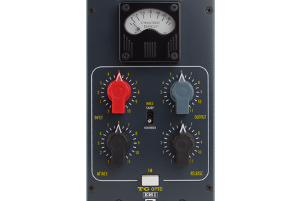 Chandler Linited announces the TG Opto and TG12345 MKIV EQ for 500 Series