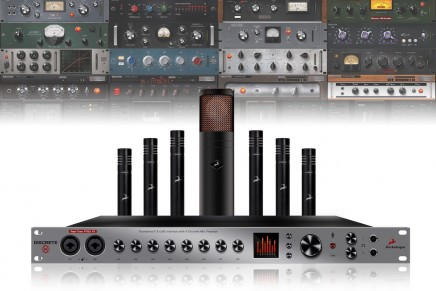 Antelope Audio announces DISCRETE 8 console-grade mic preamp interface and accompanying modelling mics