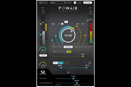 Sound Radix announces the POWAIR Plug-in