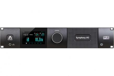 Apogee introduces new special edition 2×6 I/O module for Symphony I/O Mk II