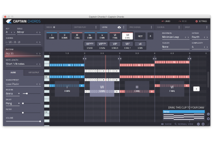 Mixed In Key releases Music theory plugins that communicate with each other: Captain Chords, Captain Deep and Captain Melody