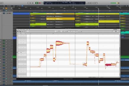 Celemony Melodyne in Apple Logic Pro X
