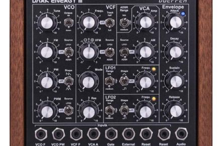 Doepfer announces Dark Energy III monophonic stand-alone synthesizer