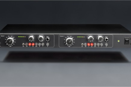 TK Audio announces DP-2 dual microphone preamp