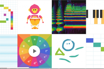 Google releases Chrome Music Lab