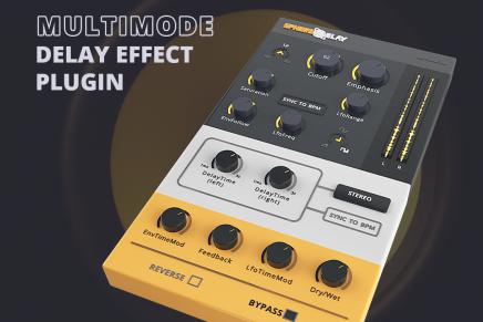 W.A Production announces SphereDelay – an innovative Multimode Delay Effect Plugin