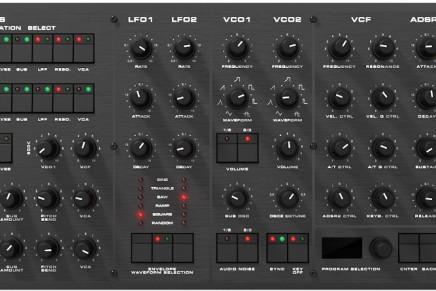 Black Corporation KIJIMI 8-voice analogue synthesizer atSuperbooth 2018