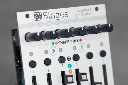 Mutable Instruments announces Stages segment generator for Eurorack