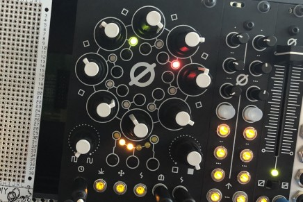 Antumbra announces ROT8 – 8 step analog CV sequencer at Superbooth 2018