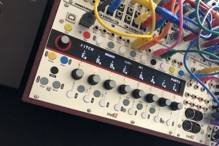 Five12 shows a prototype of the Vector Sequencer Eurorack Module