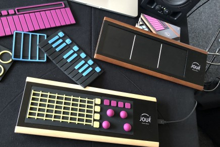 Joué expressive and modular MIDI controller at Superbooth 2018