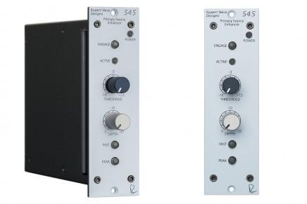 Rupert Neve Designs announces 545 source enhancer for Lunchbox 500 series