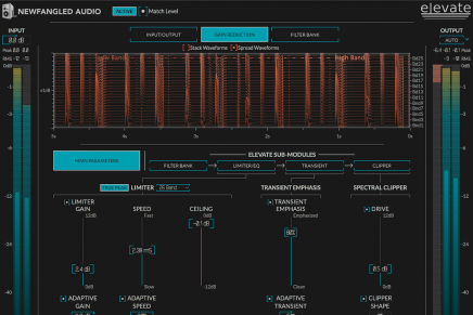 Eventide and Newfangled Audio raise mastering bar with two new plug-ins for Elevate Bundle 1.5